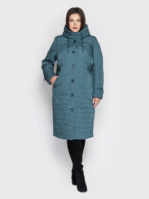 Пальто цвета морской волны | 5725909