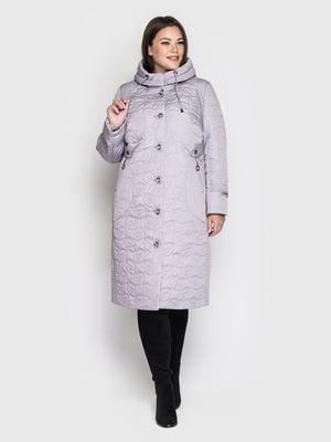 Пальто светло-сиреневого цвета | 5725910