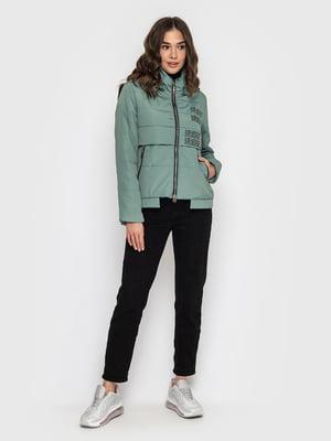 Куртка смарагдового кольору - WELLTRE - 5725923
