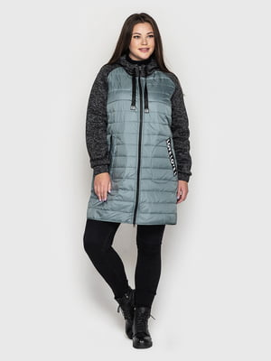 Пальто смарагдового кольору | 5725925