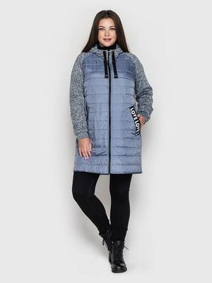 Пальто голубое | 5725929