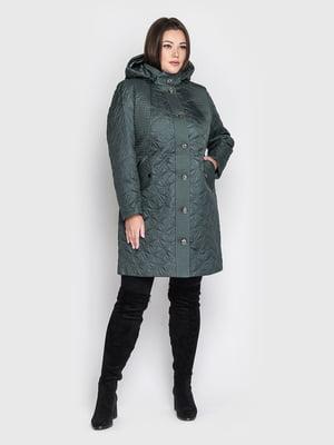 Пальто смарагдового кольору - WELLTRE - 5725939