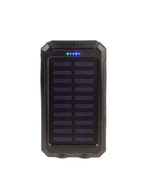 Зарядний пристрій портативний від сонячної батареї з ліхтариком | 5726219