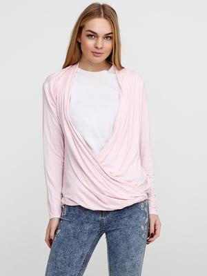 Лонгслив розового цвета | 5726333