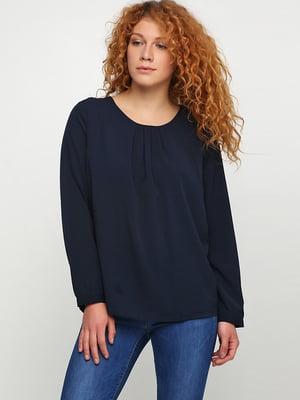 Блуза синяя | 5726369