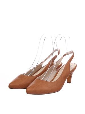 Туфлі коричневого кольору | 5726523
