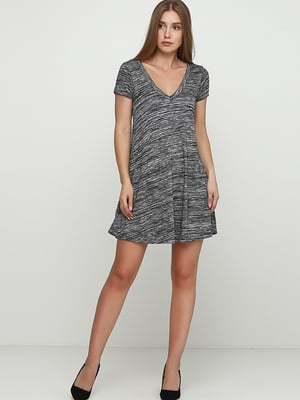 Сукня сіро-чорна | 5726544