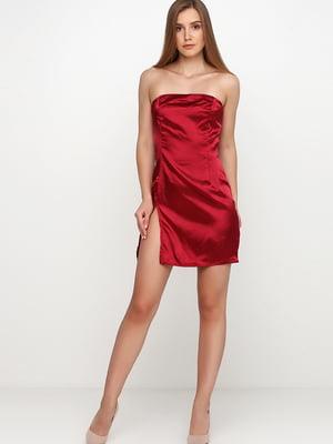 Платье бордовое   5726567