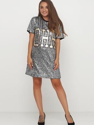 Сукня чорна з малюнком   5726962