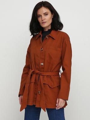 Куртка коричневого кольору   5726968