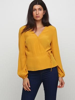 Блуза горчичного цвета | 5726994