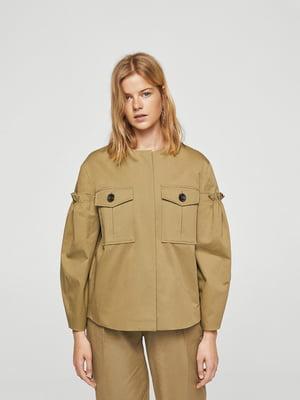 Куртка кольору хакі | 5727084