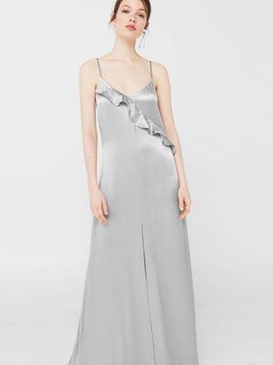 Платье серебристого цвета | 5727111