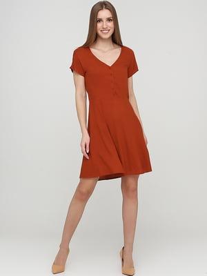 Платье коричневого цвета | 5727138