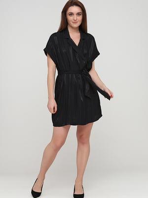 Сукня чорна в смужку | 5727139