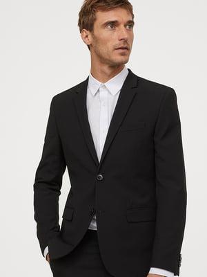 Піджак чорний | 5727199