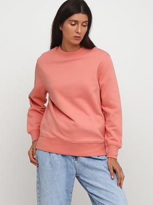 Світшот рожевого кольору | 5727218