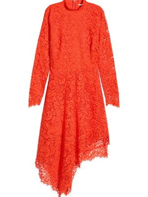 Сукня червоного кольору з візерунком | 5727219