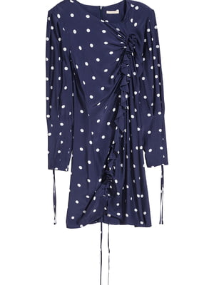 Сукня синя в горошок | 5727233