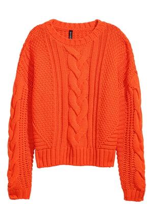 Джемпер морквяного кольору | 5727321