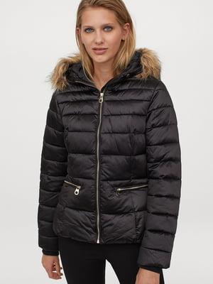 Куртка чорна | 5727348