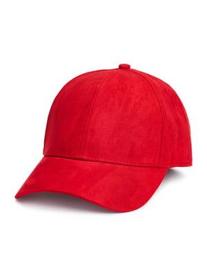 Бейсболка красного цвета   5727902