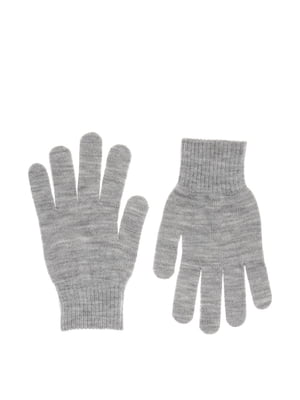 Перчатки серые | 5727919