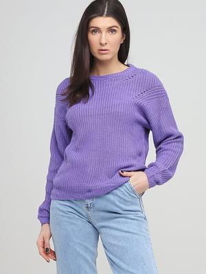 Джемпер фиолетовый | 5727974