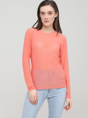 Блуза кораллового цвета | 5727976