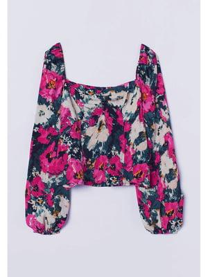 Блуза для беременных в цветочный принт   5728104