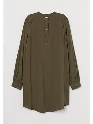 Сукня кольору хакі | 5728337
