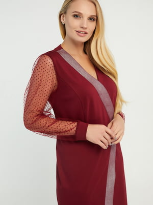 Платье вишневого цвета   5729226