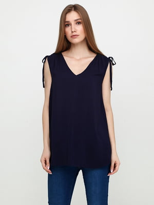 Блуза синяя | 5729566