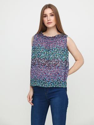 Блуза в цветочный принт | 5729567