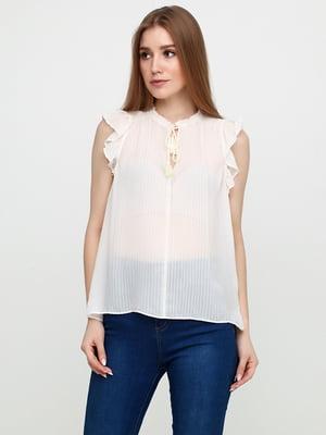 Блуза молочного цвета | 5729569