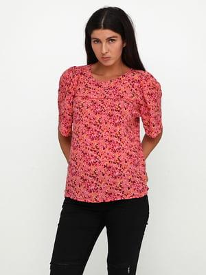 Блуза в цветочный принт | 5729575
