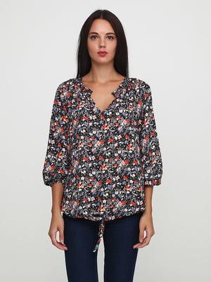 Блуза в цветочный принт | 5729579