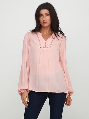 Блуза цвета пудры | 5729581