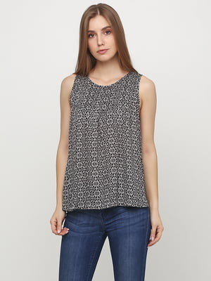 Блуза в цветочный принт | 5729593