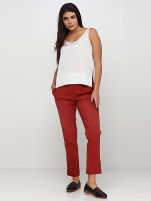 Штани теракотового кольору | 5729617