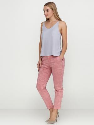 Штани рожевого кольору з візерунком | 5729618