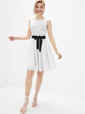 Платье белое в горошек | 5729712