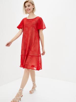Платье красное   5729715