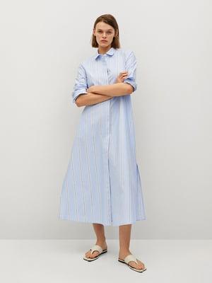 Платье голубое | 5730430