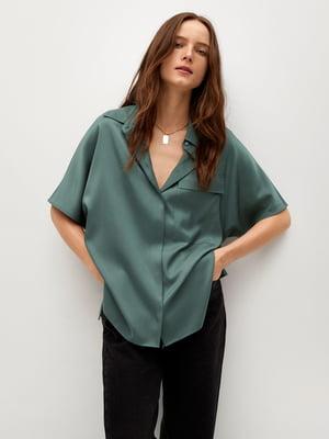Рубашка зеленая | 5730451