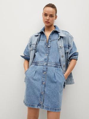 Платье голубое | 5730454