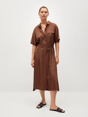 Платье коричневое | 5730471