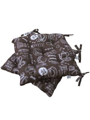Подушка для стільця декоративна (40х40) | 5550481