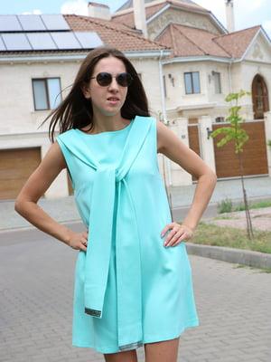 Платье голубое   5730599