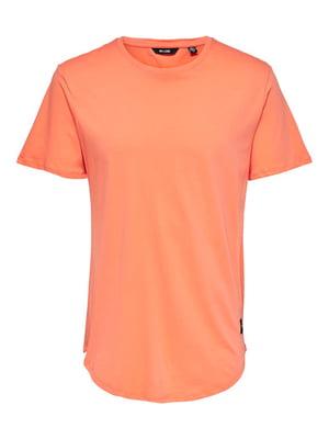 Футболка помаранчевого кольору | 5730628